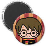 Harry Potter Cartoon Character Art 6 Cm Round Magnet