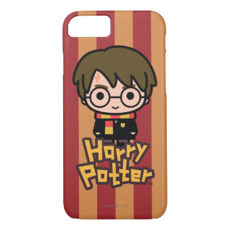 Harry Potter Cartoon Character Art iPhone 8/7 Case