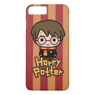Harry Potter Cartoon Character Art iPhone 8 Plus/7 Plus Case