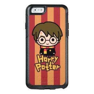 Harry Potter Cartoon Character Art OtterBox iPhone 6/6s Case