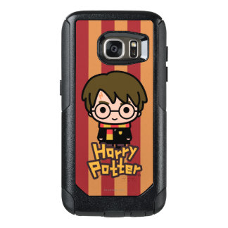Harry Potter Cartoon Character Art OtterBox Samsung Galaxy S7 Case