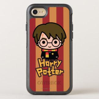 Harry Potter Cartoon Character Art OtterBox Symmetry iPhone 8/7 Case