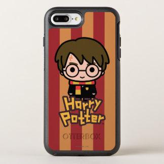 Harry Potter Cartoon Character Art OtterBox Symmetry iPhone 8 Plus/7 Plus Case