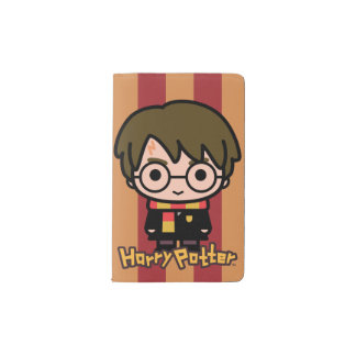 Harry Potter Cartoon Character Art Pocket Moleskine Notebook