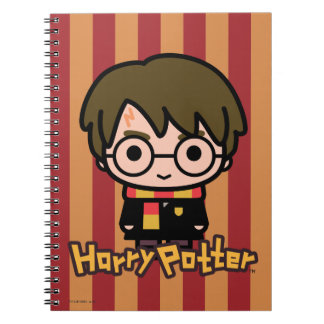 Harry Potter Cartoon Character Art Spiral Note Book