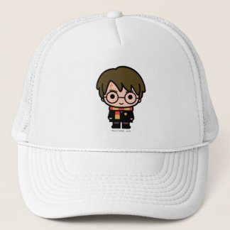 Harry Potter Cartoon Character Art Trucker Hat