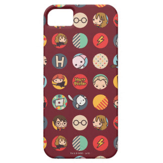 Harry Potter Cartoon Icons Pattern iPhone 5 Covers