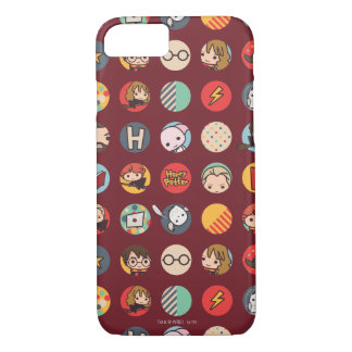 Harry Potter Cartoon Icons Pattern iPhone 8/7 Case
