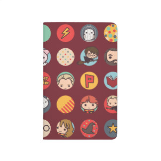 Harry Potter Cartoon Icons Pattern Journal