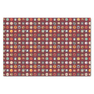 Harry Potter Cartoon Icons Pattern Tissue Paper