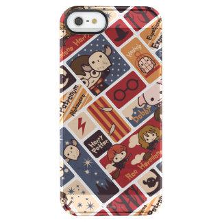 Harry Potter Cartoon Scenes Pattern Clear iPhone SE/5/5s Case