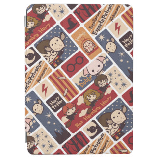 Harry Potter Cartoon Scenes Pattern iPad Air Cover