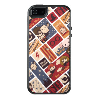 Harry Potter Cartoon Scenes Pattern OtterBox iPhone 5/5s/SE Case