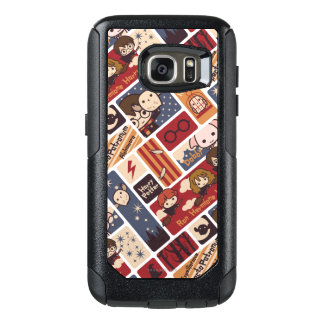 Harry Potter Cartoon Scenes Pattern OtterBox Samsung Galaxy S7 Case