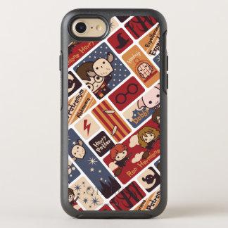 Harry Potter Cartoon Scenes Pattern OtterBox Symmetry iPhone 8/7 Case