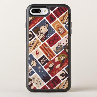 Harry Potter Cartoon Scenes Pattern OtterBox Symmetry iPhone 8 Plus/7 Plus Case