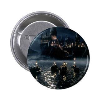 Harry Potter Castle | Arrival at Hogwarts 6 Cm Round Badge