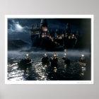 Harry Potter Castle | Arrival at Hogwarts Poster