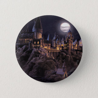 Harry Potter Castle | Great Lake to Hogwarts 6 Cm Round Badge
