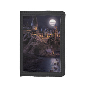 Harry Potter Castle | Great Lake to Hogwarts Trifold Wallet