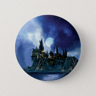 Harry Potter Castle | Hogwarts at Night 6 Cm Round Badge
