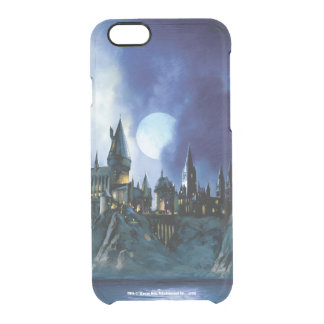 Harry Potter Castle | Hogwarts at Night Clear iPhone 6/6S Case