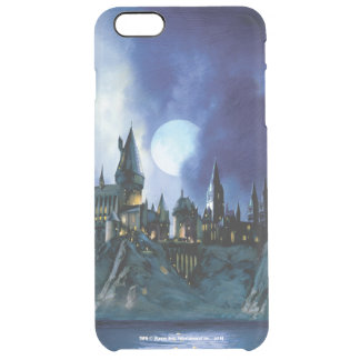 Harry Potter Castle | Hogwarts at Night Clear iPhone 6 Plus Case