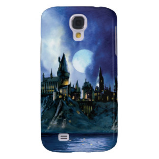 Harry Potter Castle | Hogwarts at Night Galaxy S4 Case