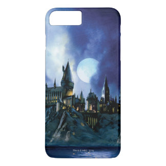 Harry Potter Castle | Hogwarts at Night iPhone 8 Plus/7 Plus Case
