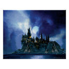 Harry Potter Castle | Hogwarts at Night Poster