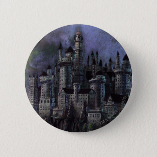 Harry Potter Castle | Magnificent Hogwarts 6 Cm Round Badge