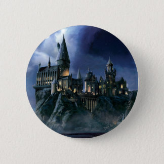 Harry Potter Castle | Moonlit Hogwarts 6 Cm Round Badge