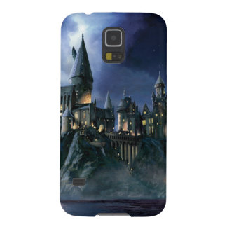 Harry Potter Castle | Moonlit Hogwarts Galaxy S5 Cover