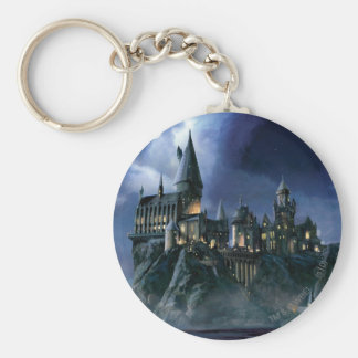 Harry Potter Castle | Moonlit Hogwarts Key Ring