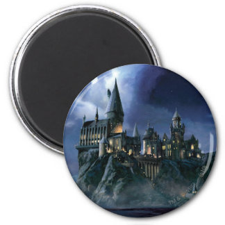 Harry Potter Castle | Moonlit Hogwarts Magnet