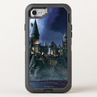 Harry Potter Castle   Moonlit Hogwarts OtterBox Defender iPhone 7 Case