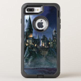 Harry Potter Castle   Moonlit Hogwarts OtterBox Defender iPhone 7 Plus Case