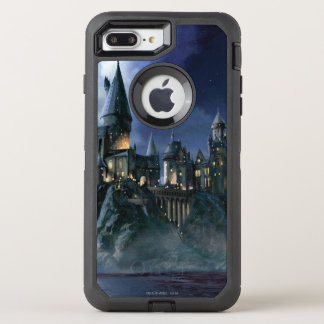 Harry Potter Castle | Moonlit Hogwarts OtterBox Defender iPhone 8 Plus/7 Plus Case