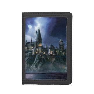 Harry Potter Castle | Moonlit Hogwarts Trifold Wallets