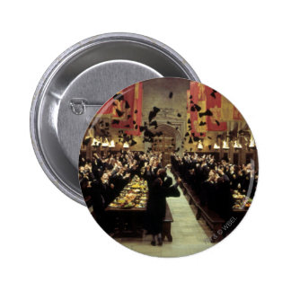 Harry Potter Castle | The Great Hall 6 Cm Round Badge