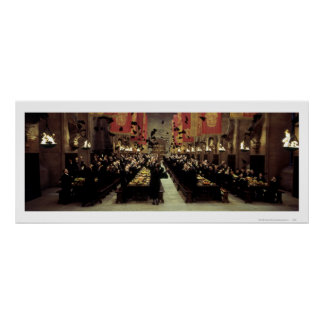 Harry Potter Castle   The Great Hall Poster