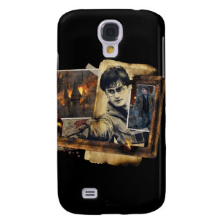 Harry Potter Collage 7 Galaxy S4 Case