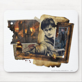 Harry Potter Collage 7 Mouse Mat