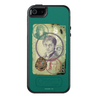 Harry Potter Collage 9 OtterBox iPhone 5/5s/SE Case