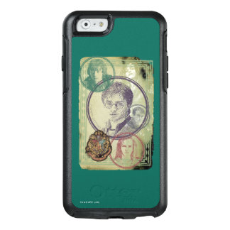Harry Potter Collage 9 OtterBox iPhone 6/6s Case