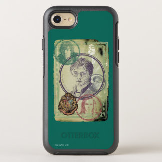 Harry Potter Collage 9 OtterBox Symmetry iPhone 7 Case