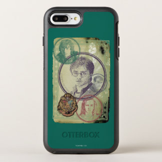 Harry Potter Collage 9 OtterBox Symmetry iPhone 8 Plus/7 Plus Case