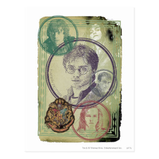 Harry Potter Collage 9 Postcard
