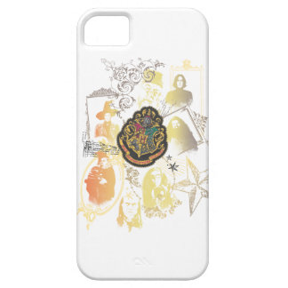 Harry Potter | Colorful Hogwarts Crest Barely There iPhone 5 Case