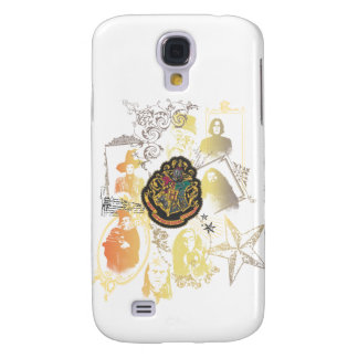 Harry Potter | Colorful Hogwarts Crest Galaxy S4 Case